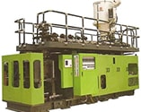 accumulator head blow molding machinery