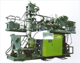 accumulator head blow molding Double Color Machines