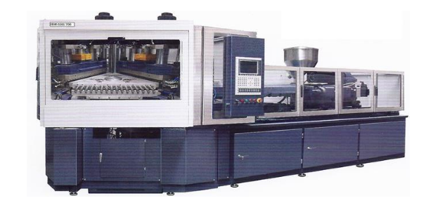Electric injection blow molding